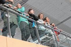 Zuschauer feuerten die Spieler lautstark an. Foto: Die Oberbadische