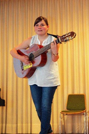 Abräumerin Kathrin Ruesch, die drei Preise einheimste. Foto: Markgräfler Tagblatt