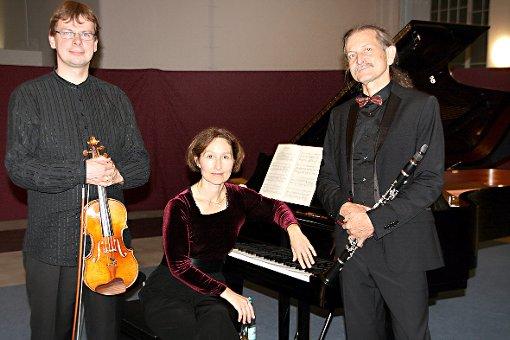 Einen fulminanten Trio-Abend gaben Jiri Nemecek, Andrea Kauten und Nikolaus Friedrich in Fahrnau.   Foto: Jürgen Scharf Foto: Markgräfler Tagblatt