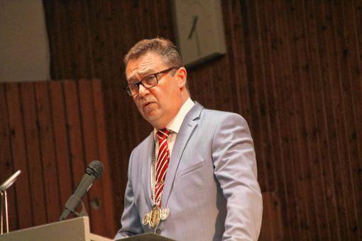 Bürgermeister Philipp Schmid. Foto: Lorenz