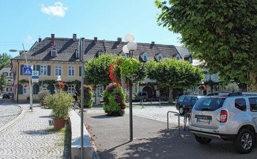 Auch das Parken auf dem Blumenplatz kam beim Thema Mobilität bei der Klausurtagung zur Sprache.    Foto: wz Foto: Weiler Zeitung