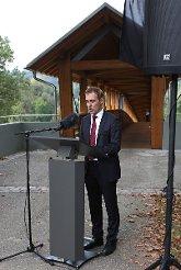Jörg Lutz bei seiner Ansprache. Foto: Kristoff Meller Foto: mek