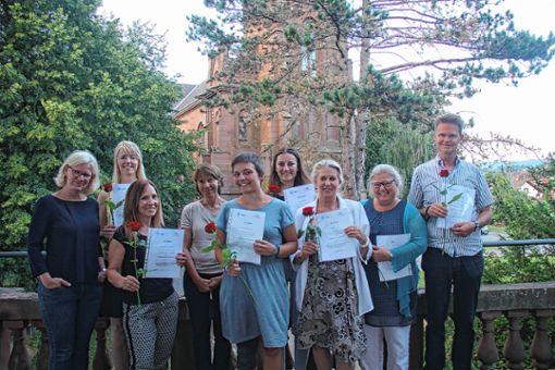 Sieben neue Familienpaten bildete der Kinderschutzbund aus.    Foto: zVg Foto: Markgräfler Tagblatt