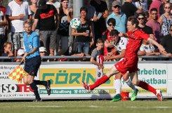 Impressionen des Freundschaftsspiels zwischen dem FV Lörrach-Brombach und dem SC Freiburg. Fotos: Hubbs/Bähr Foto: mib