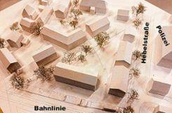 Eine aufeinander abgestimmte Bebauung strebt die Stadt in dem 1,4 Hektor großen Areal an. (Plan) Foto: Thoma, Lay und Bucher