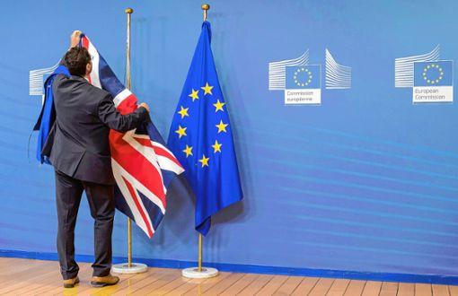 """Was müssen Rheinfelder mit britischem Pass beachten, wenn in der Europäischen Union der """"Union Jack"""" abgehängt wird? Foto: Archiv"""