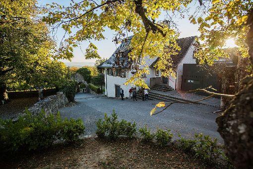 Die Burgschenke wird am 2. Dezember wieder eröffnet. Foto: Kristoff Meller Foto: Kristoff Meller