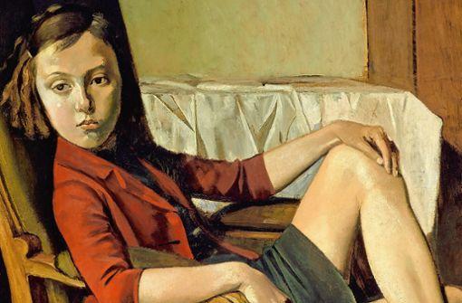 "Balthus, ""Thérèse"", 1938, Öl auf Karton auf Holz, The Metropolitan Museum of Art, New York. Foto: The Metropolitan Museum of Art/Art Resource/Scala, Florenz"