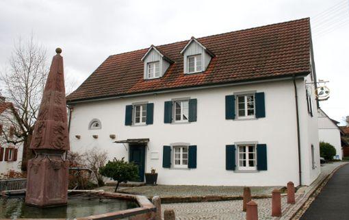 """Die """"Traube"""" in Blansingen hat gut drei Jahre nach der Schließung neue Pächter und wird demnächst neu eröffnen. Foto: Saskia Scherer"""