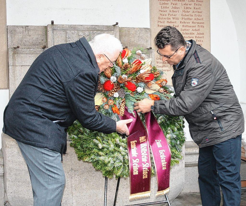 """Steinen: """"Die Jugend muss lernen, Konflikte nicht mit Gewalt zu lösen"""" - Steinen - www.verlagshaus-jaumann.de"""