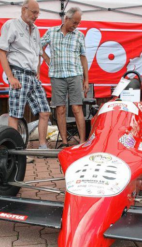 Roter Flitzer. Foto: Markgräfler Tagblatt