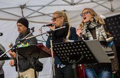 Die Regiosozialband unterhielt das Publikum am Samstag auf dem Chesterplatz.  Foto: Kristoff Meller Foto: mek