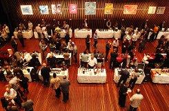 Impressionen von der Weinmesse im Burghof. Foto: Kristoff Meller Foto: mek