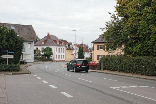 """Das  Sanierungsgebiet """"Eisenbahnstraße/Bahnhof"""" umfasst ein knapp 6,5 Hektar großes Gebiet zwischen Bahnhof und Ortsmitte.      Foto: Bötsch Foto: Weiler Zeitung"""