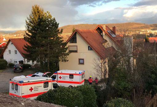 Der Rettungsdienst brachte den  Jugendlichen ins Krankenhaus.    Foto: Nodler Foto: Die Oberbadische