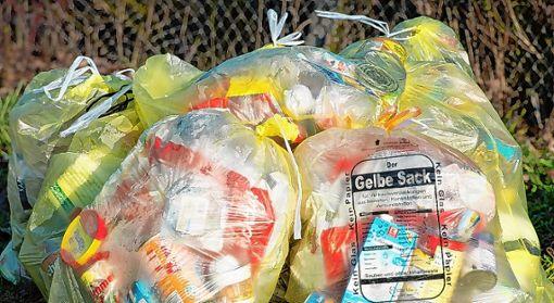 Der im Kreis Lörrach gesammelte Verpackungsmüll wird nicht exportiert.   Foto: Archiv Foto: Die Oberbadische