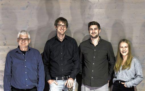 Die Band: (von links)  Gottfried Burger, Mathias Burger, Marc Burger und  Viktoria Hörner.   Foto: zVg Foto: Markgräfler Tagblatt