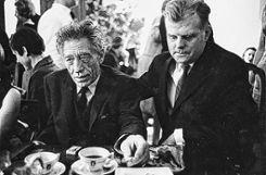 Fest für Alberto Giacometti bei der Galerie Kornfeld (Alberto Giacometti und Eberhard Kornfeld), Bern, 1965.  Foto: Kurt Blum/Fotostiftung Schweiz Foto: Die Oberbadische