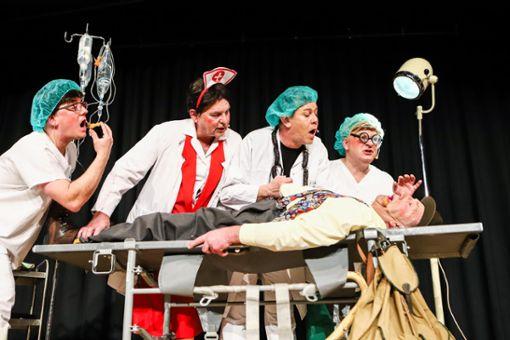 Impressionen der Zunftabend-Premiere in der Alten Halle in Haagen. Foto: Kristoff Meller Foto: Kristoff Meller