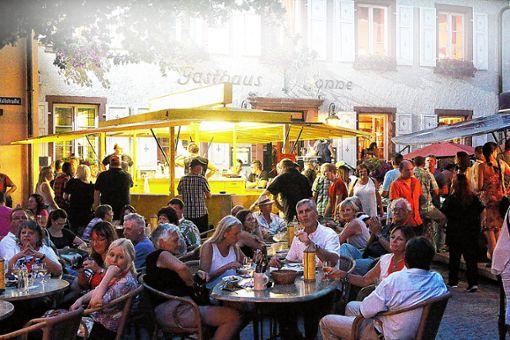 """""""Schopfheim tanzt"""" wieder am 4. August bei der Live-Night in der Innenstadt.    Foto: Archiv Foto: Markgräfler Tagblatt"""