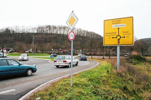 """""""Riesenthema"""" im Revier sei der Verkehr auf der B317 als """"Lebensader"""" der Region, so Dümmig weiter. (Archivbild) Foto: Harald Pflüger"""