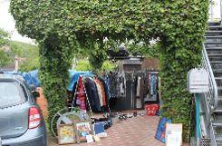 Impressionen vom Bürgerflohmarkt in Kandern Foto: ag