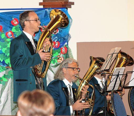 Die Geschwender Musiker bescherten ihrem Publikum ein stimmungsvolles Konzerterlebnis.   Foto: Heiner Fabry Foto: Markgräfler Tagblatt