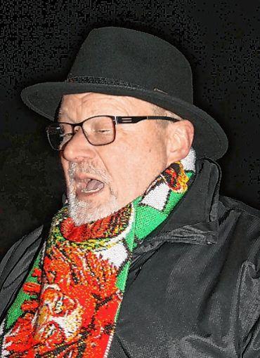 Bernhard Springmann las den Aruba-Narren die Leviten. Foto: Markgräfler Tagblatt