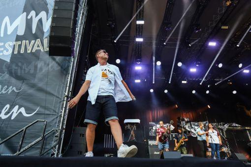 Impressionen des Konzerts von Dendemann und Peter Reimtgut&Band (Support) Foto: Kristoff Meller Foto: Kristoff Meller
