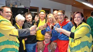 Utzenfeld: Lautstarke Narrenparty in Utzenfeld