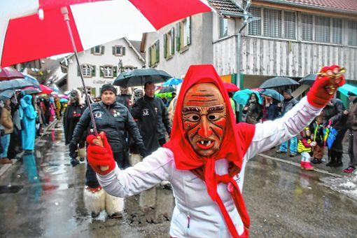 Die Narren werden an Fasnacht auch in Hausen die Straßen erobern.   Foto: Archiv Foto: Markgräfler Tagblatt