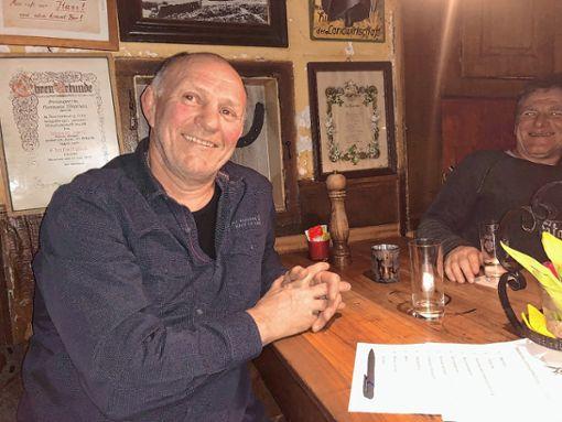 Walter Möhrle wurde neuer Vorsitzender des Fördervereins Ringen. Möhrle wurde Nachfolger von Ernst Gempp.      Foto: Hans-Jürgen Hege Foto: Markgräfler Tagblatt