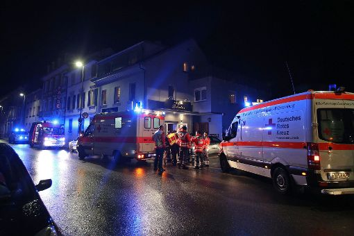 Die Rettungskräfte waren mit einem Großaufgebot vor Ort. Foto: Kristoff Meller Foto: Kristoff Meller