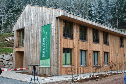 Der Holzbau ist für die  Jugendlichen künftig Dreh- und Angelpunkt ihres Ausbildungsalltags.   Foto: Ingmar Lorenz Foto: Markgräfler Tagblatt