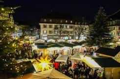 Weihnachtsstimmung im Herzen der Stadt. Foto: Meller