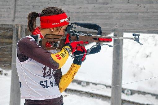 EM im Visier: Helena Gnädinger vom Skiclub Todtnau.   Foto: Joachim Hahne Foto: Die Oberbadische