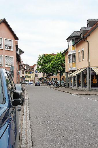 Die Eisenbahnstraße in Steinen.    Fotos: Harald Pflüger Foto: Markgräfler Tagblatt