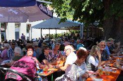Tausende Besucher genossen den Johannimärt in Grenzach. Zum Jubiläum hatte die Gemeinde ein attraktives Rahmenprogramm auf die Beine gestellt. Foto: tn