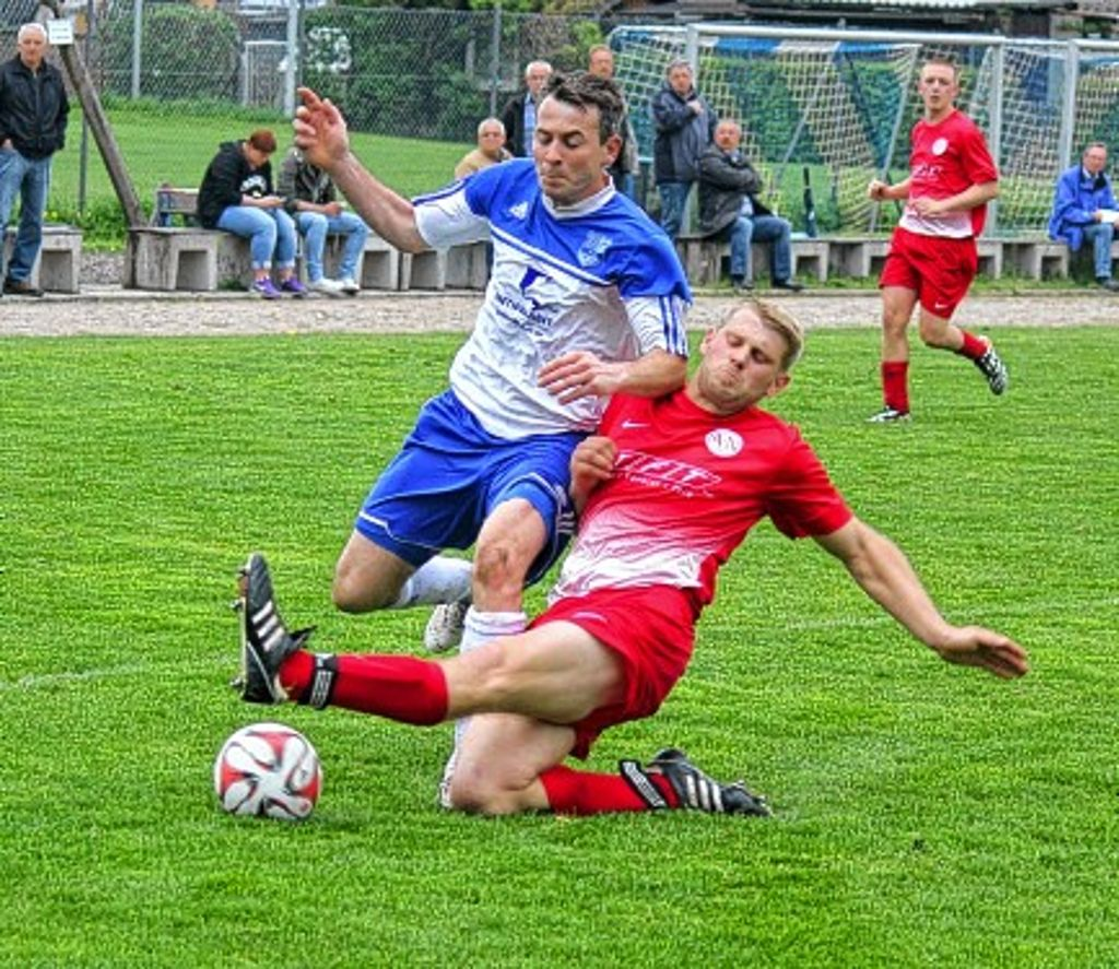 Zweikampf Fußball