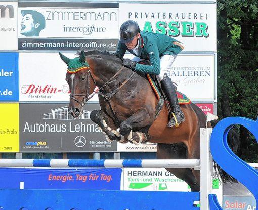 Schnell und fehlerfrei: Mario Walter (RSG Ostalb)    Foto: Nodler Foto: Die Oberbadische