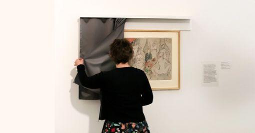 "Pablo Picasso: Skizze zu ""Les Demoiselles d'Avignon""   Foto: zVg/Julian Salinas / © Pro Litteris Foto: Die Oberbadische"