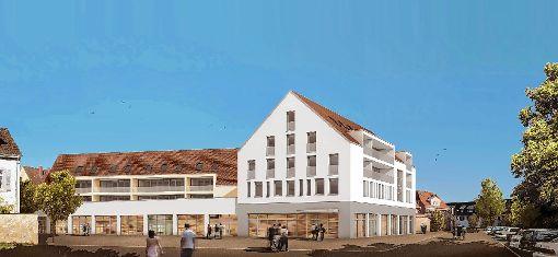 Der  Müllheimer Gemeinderat  votierte einstimmig  für das Satteldach.   Foto: zVg Foto: Weiler Zeitung