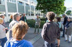 Die Besucher erhielten Informationen aus erster Hand. Foto: Die Oberbadische