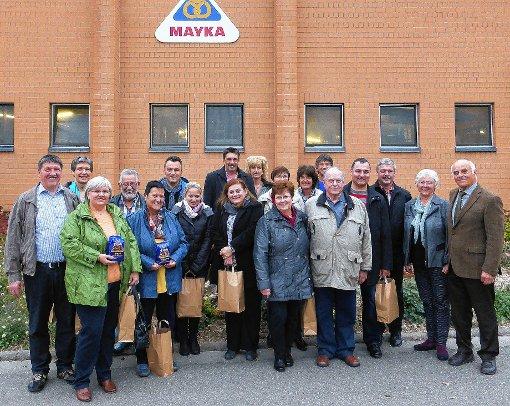 Die Steinener CDU-Delegation zu Besuch in Schliengen.  Foto: zVg Foto: Markgräfler Tagblatt