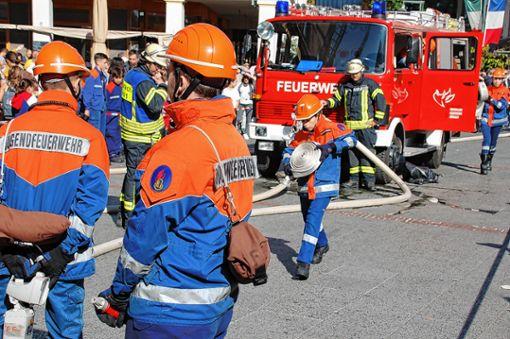 Kreis Lörrach Jeder Tag ein Tag der Feuerwehr