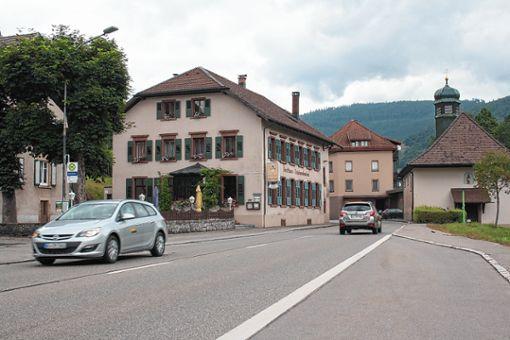 Schonau Neue Lampen Entlang Der Bundesstrasse Schonau Im