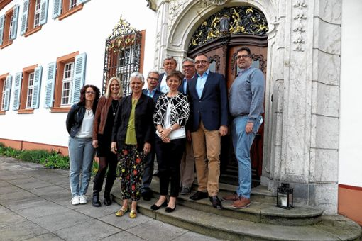 Zufrieden mit einem positiven Jahresabschluss 2017: der Vorstand des Bürgelnbunds.    Foto: Dorothee Philipp Foto: Weiler Zeitung
