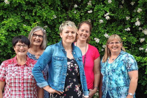 Leitungsteam Frauenverein Marzell: (v.l.) Martina Gerspacher, Erika Lindemer, Daniela Kilchling, Miriam Hofer und Antje Fischer-Oßwald.   Foto: zVg Foto: Weiler Zeitung