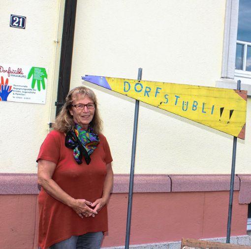 Annemarie Weber geht in Ruhestand. Heute findet ihr zu Ehren im Dorfstübli  ein Abschiedsfest statt.   Foto: Heiner Fabry Foto: Markgräfler Tagblatt
