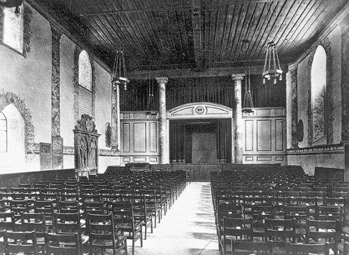 Die 1921 zur städtischen Festhalle umgestaltete Martinskirche   Fotos: zVg Foto: Weiler Zeitung